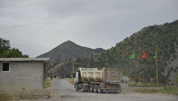 Граница гор Кандиль, подконтрольных РПК. Архивное фото