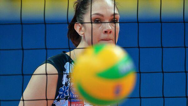 Волейболистка Екатерина Гамова. Архивное фото