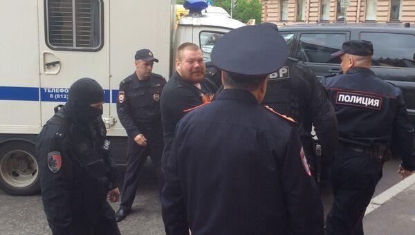 Арест Вячеслава Дацика