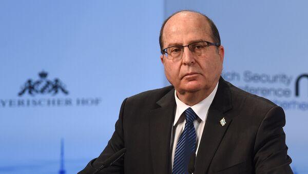 Министр обороны Израиля Моше Яалон. Архивное фото