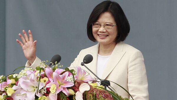 Глава Тайваня Цай Инвэнь. Архивное фото