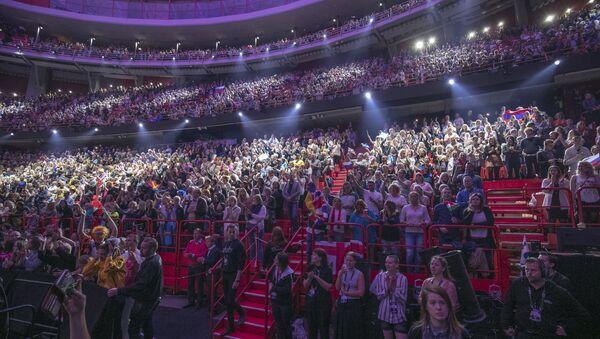 Зрители во время финала конкурса Евровидение-2016. Архивное фото
