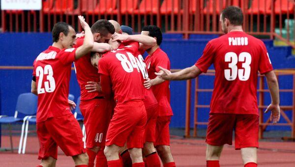 Игроки ФК Мордовия. Архивное фото