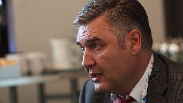Президент Coca-Cola в России, Белоруссии и Украине Зоран Вучинич