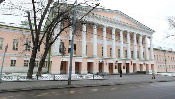 Здание Мосгордумы. Архивное фото