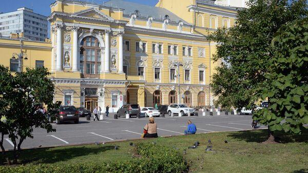 Здание Российского академического молодежного театра в Москве. Архивное фото