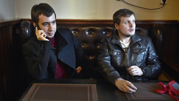 Пранкеры Владимир Кузнецов (Вован) и Алексей Столяров (Лексус). Архивное фото