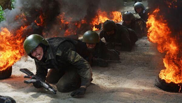 Испытания на право ношения черного берета в Екатеринбурге