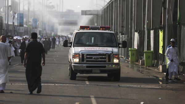 Карета скорой помощи в Саудовской Аравии