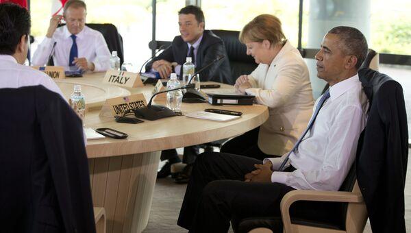 Президент США Барак Обама на саммите G7 в Сима, Япония. 27 мая 2016