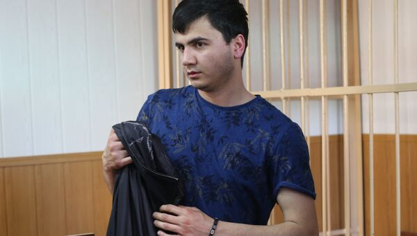 Абдувахоб Маджидов, устроивший гонки на внедорожнике замглавы Лукойла. Архивное фото