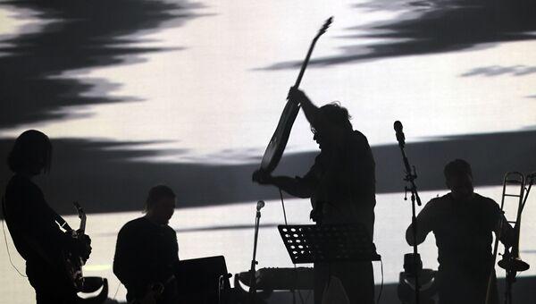 Музыканты группы ДДТ. Архивное фото
