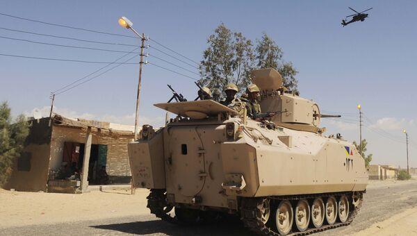 Египетские войск. Архивное фото
