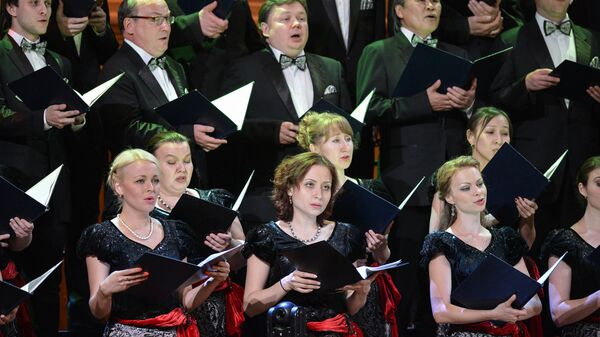 Государственная академическая хоровая капелла России имени А.А. Юрлова. Архивное фото