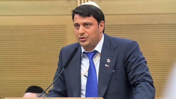 Президент Международного фонда горских евреев СТМЭГИ Герман Захарьяев