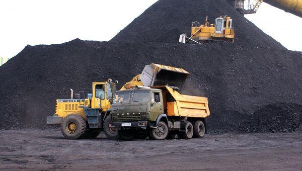 Угольный склад ОАО Шахта Заречная