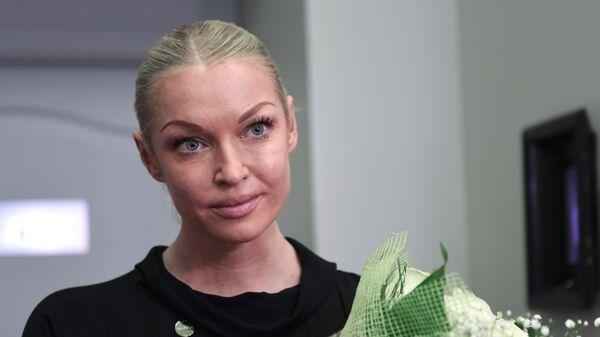Анастасия Волочкова после премьеры спектакля Иосифа Райхельгауза Пришел мужчина к женщине