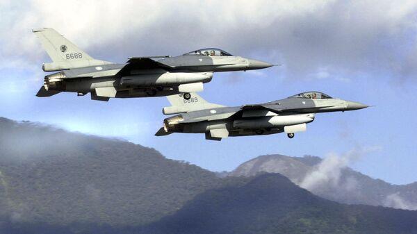 Истребители F-16 ВВС Тайваня