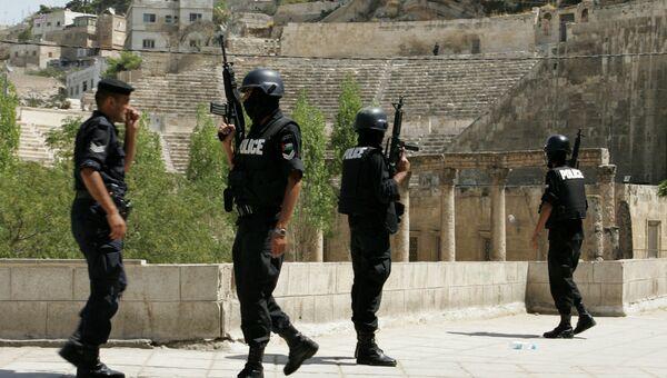 Сотрудники полиции в столице Иордании Аммане. Архивное фото