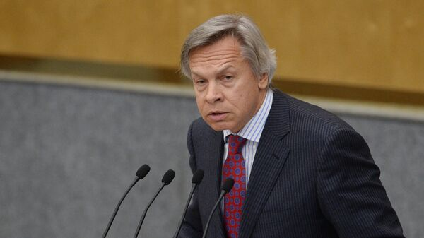Пушков рассказал, кто больше всего сожалеет о выходе России из ДОН