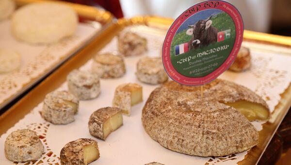Продукция сыров из Масловки