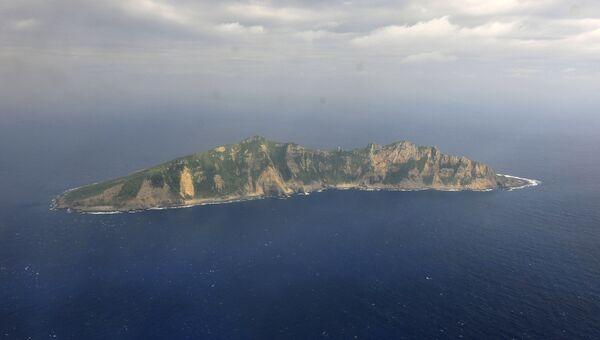 Остров Сэнкаку. Архивное фото