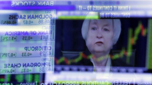 Глава ФРС США Джанет Йеллен. Архивное фото