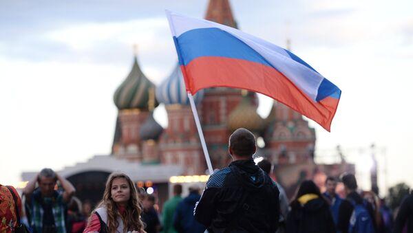 Жители Москвы на концерте в честь Дня России. Архивное фото
