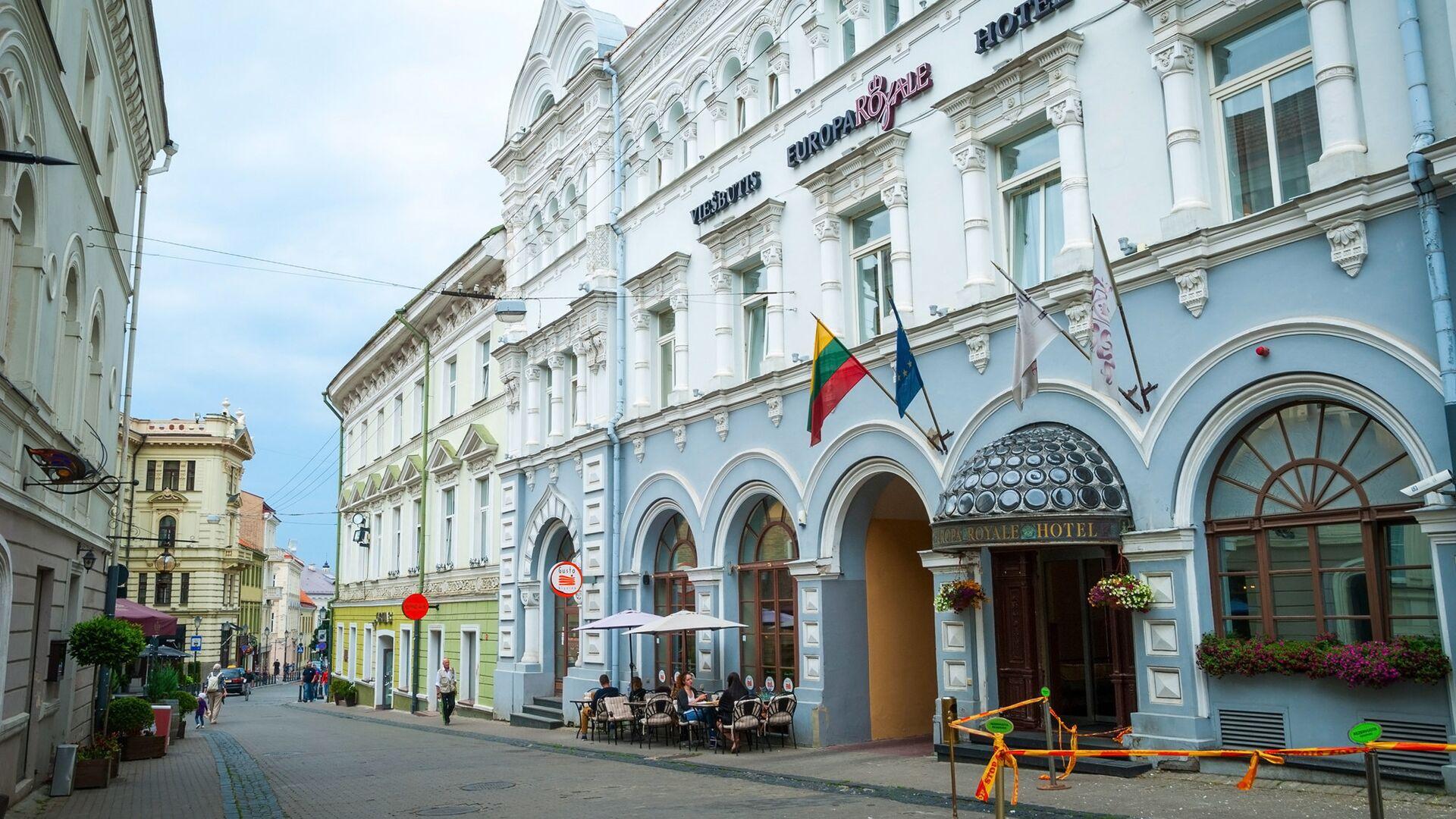 Старый город Вильнюса, Литва - РИА Новости, 1920, 23.06.2021