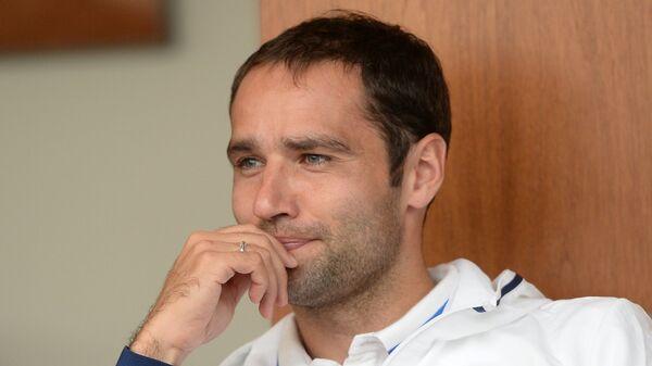 Игрок сборной России Роман Широков