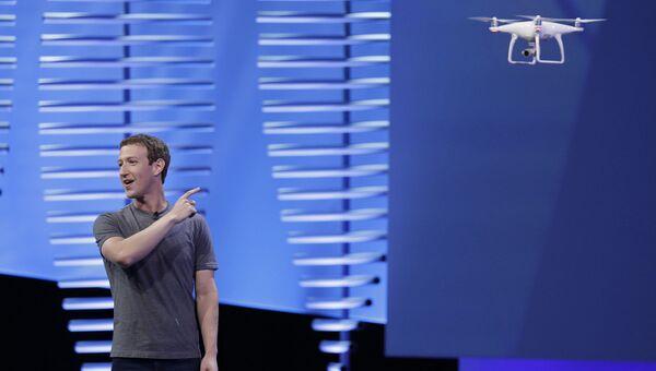 Генеральный директор Facebook Марк Цукерберг. Архивное фото