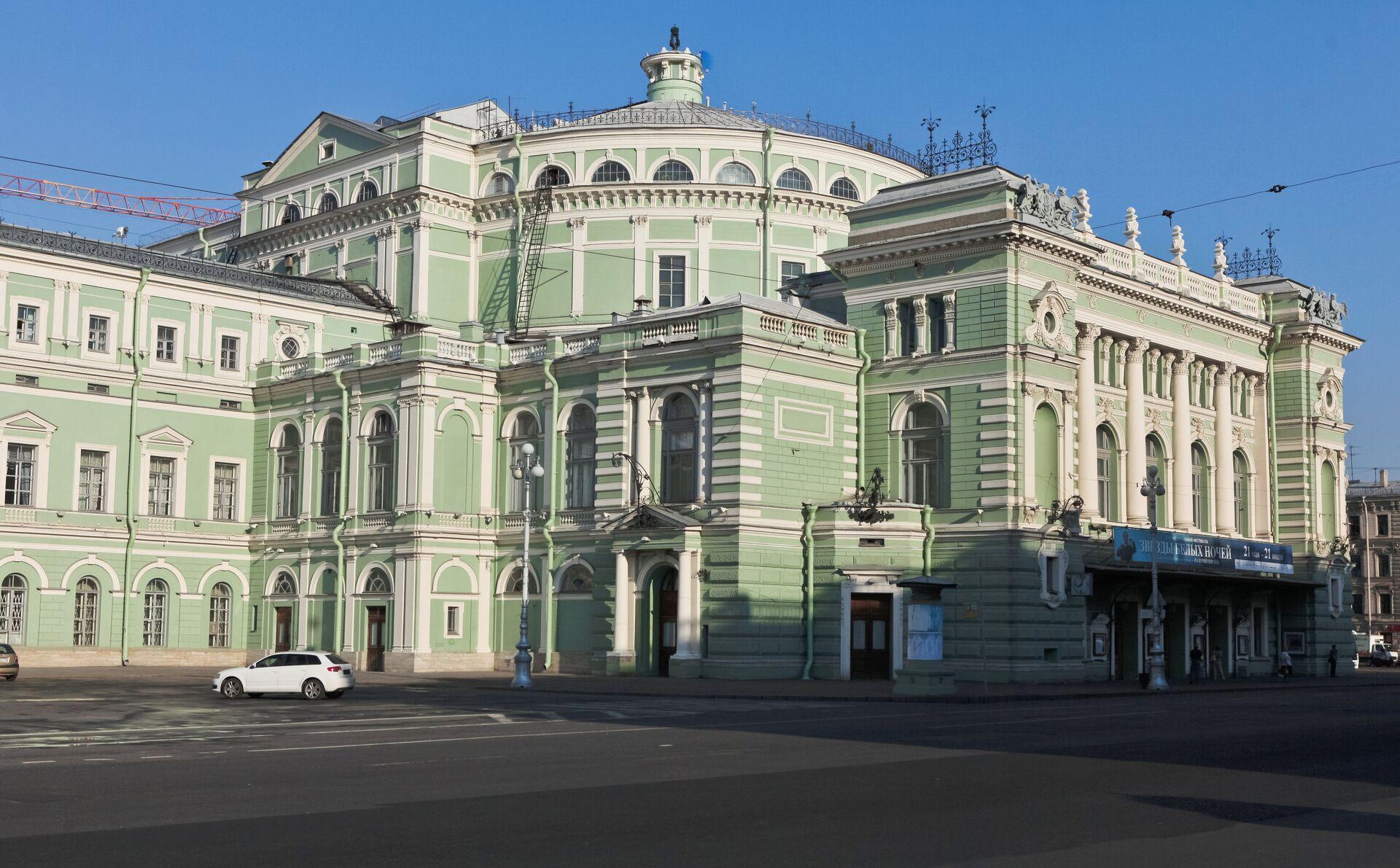 Здание Мариинского театра - РИА Новости, 1920, 24.05.2021