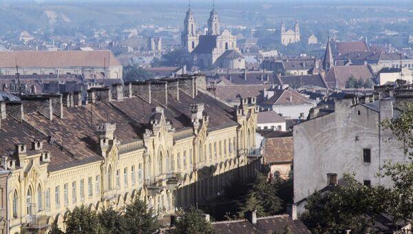 Столица Литовской ССР Вильнюс в 70-е годы ХХ века. Архивное фото