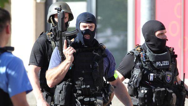 Полицейские в Германии. Архивное фото