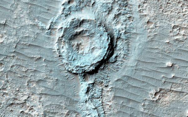 Кратер на Марсе