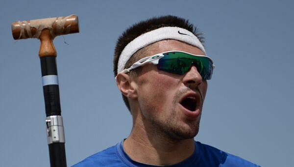Андрей Крайтор на чемпионате Европы по гребле на байдарках и каноэ