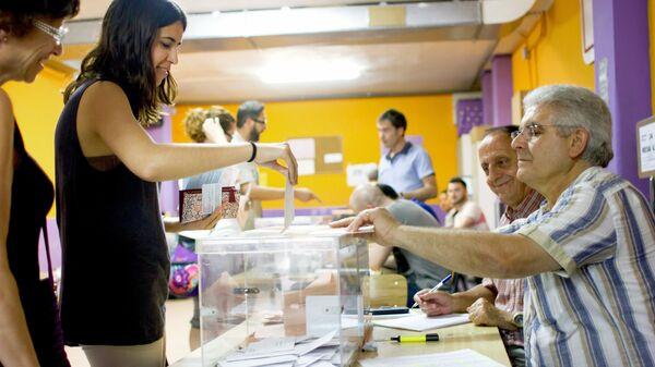 Выборы в парламент Испании
