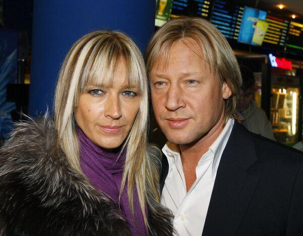 Дмитрий Харатьян c супругой Мариной Майко