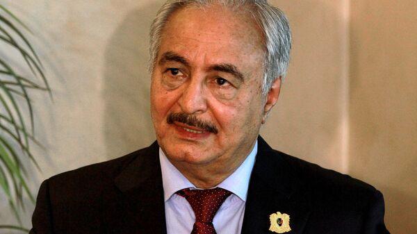 Главнокомандующий армии Ливии генерал Халифа Белкасим Хафтар