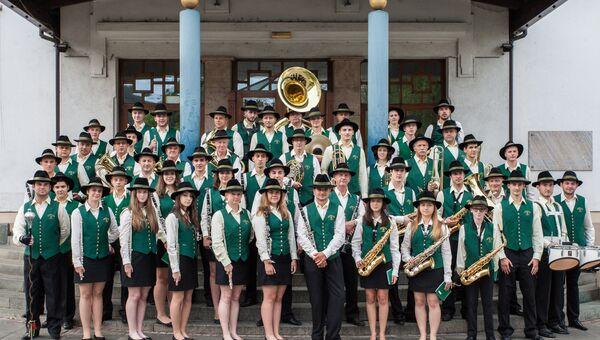 Духовой оркестр Лашко из Словении. Архивное фото