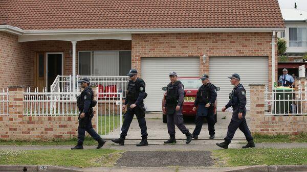 Сотрудники правоохранительных органов Австралии