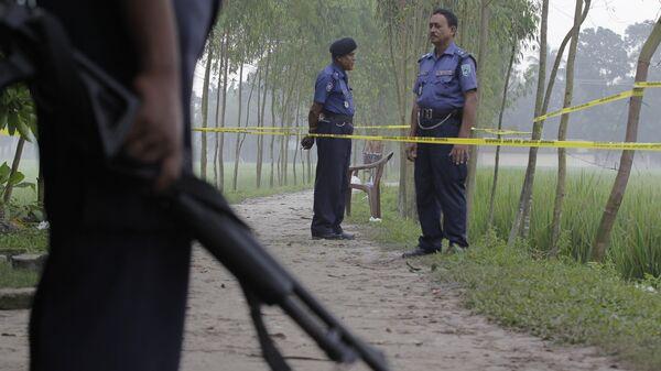 Сотрудники правоохранительных органов Бангладеш