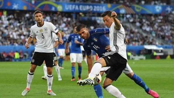 Футбол. Чемпионат Европы - 2016. Матч Германия - Италия