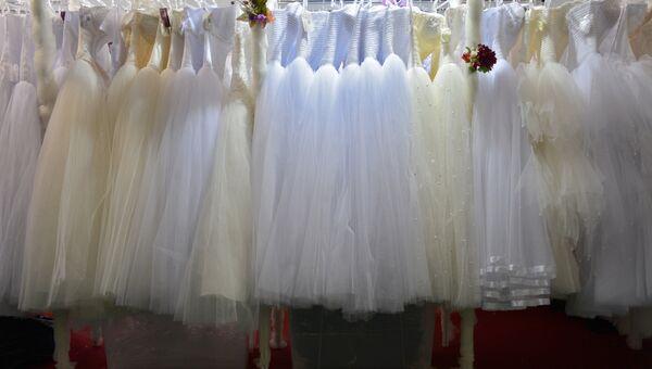 Свадебные платья. Архивное фото