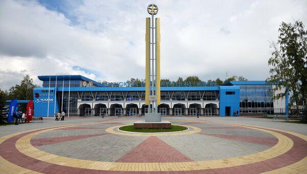 Центральная проходная Казанского вертолетного завода. Архивное фото
