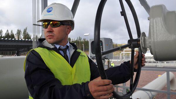 Пуск в эксплуатацию второй ветки газопровода Северный поток, архивное фото