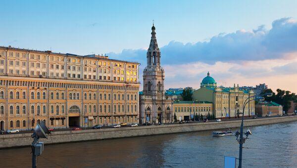 Софийская набережная Москвы. Архивное фото