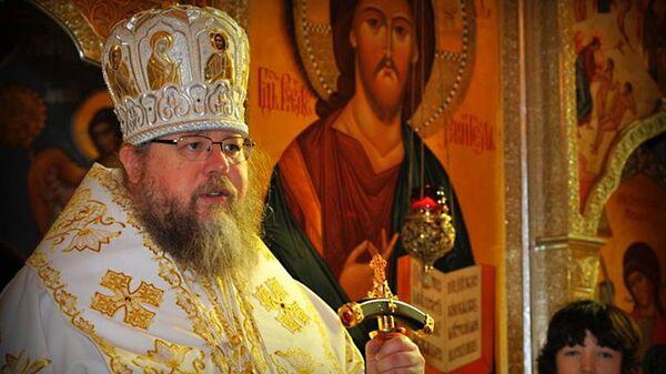 Бывший предстоятель православной церкви в США митрополит Иона (Паффхаузен). Архивное фото