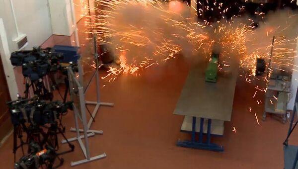 Выстрел рельсотрона: первые испытания российской электромагнитной пушки