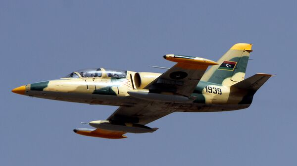 Истребитель ВВС Ливии